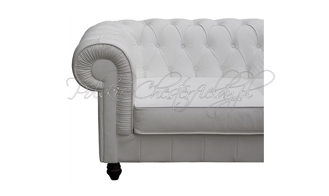 Sofa chesterfield Lady skóra naturalna