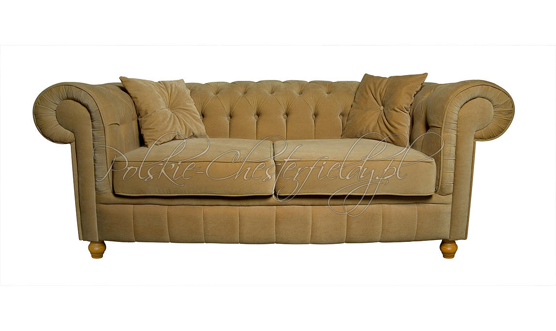 Sofa chesterfield Lady plusz tkanina