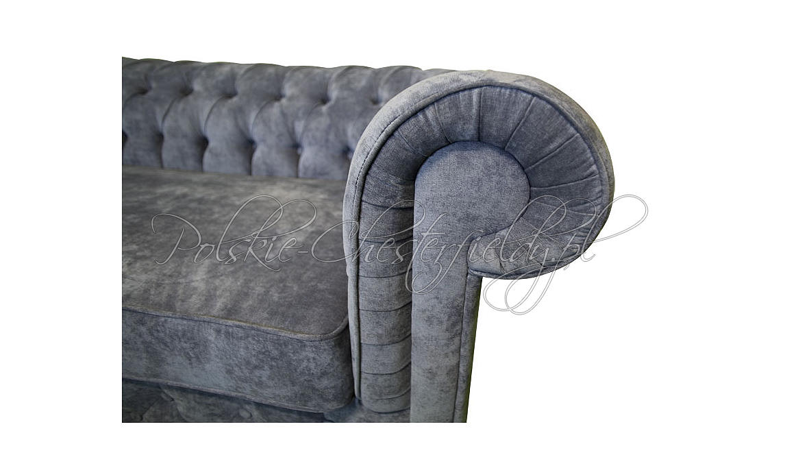 Sofa Chesterfield March plusz tkanina