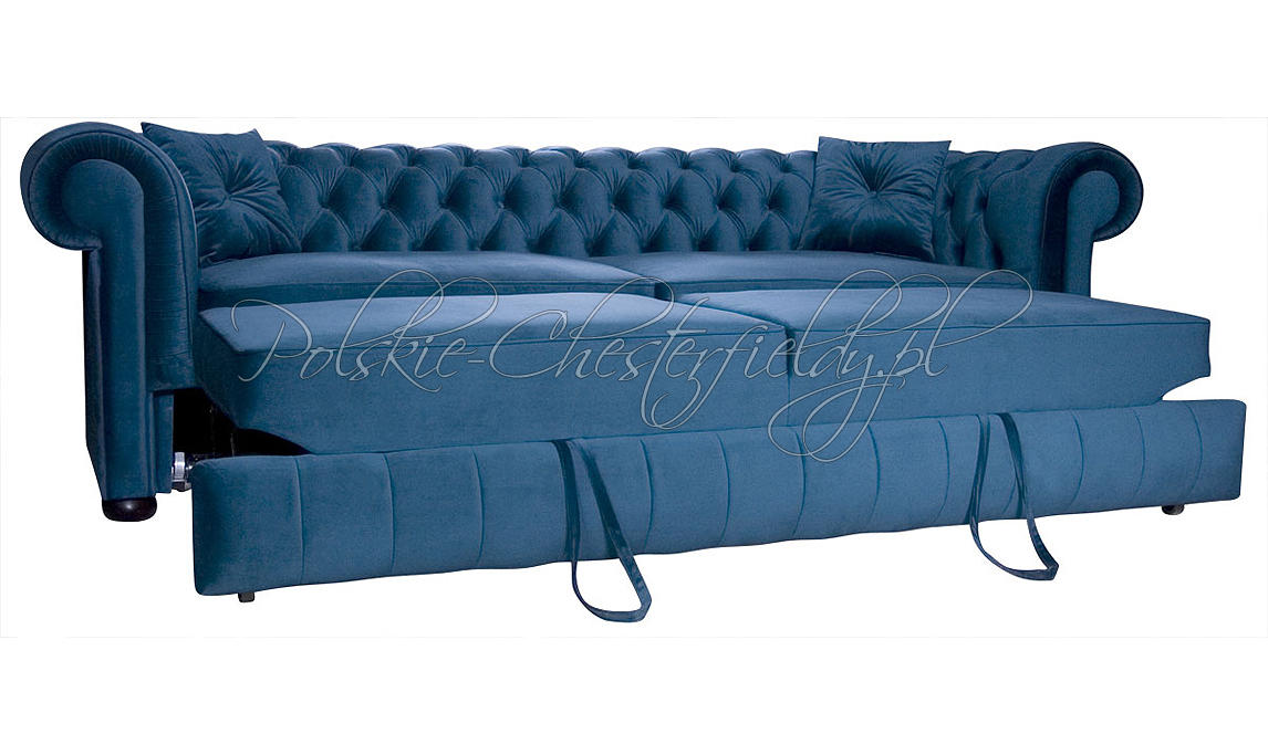 Sofa Chesterfield March Relax z funkcją spania